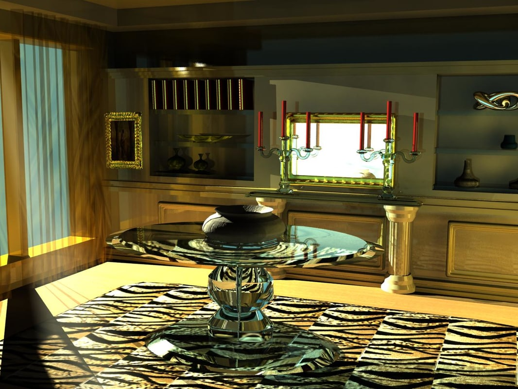 architettura e 3d model