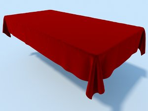 3ds max table cloth tablecloth