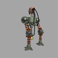 3d robot army utilitarian