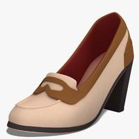 dugm03 shoes 3d model