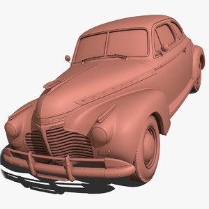 3d model chevrolet 1941
