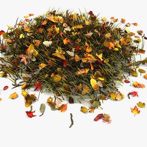3ds leaf turf