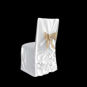 3d model wedding chair