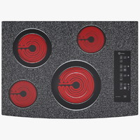 Stone Colored Sensor Electric Hob