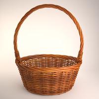 basket 2 3d max