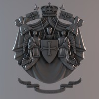 cnc decoration 3d model