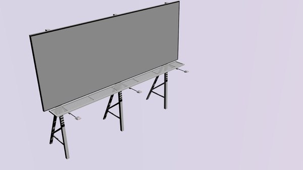 3d billboard bill model