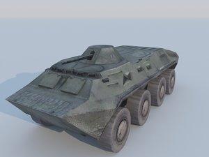 apc tanks 3d model