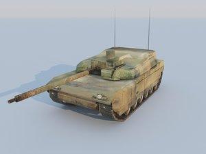 leclerc tank 3ds
