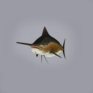 3ds marlin fish