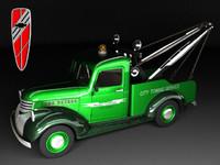 3d tow truck chevrolet 1946 model