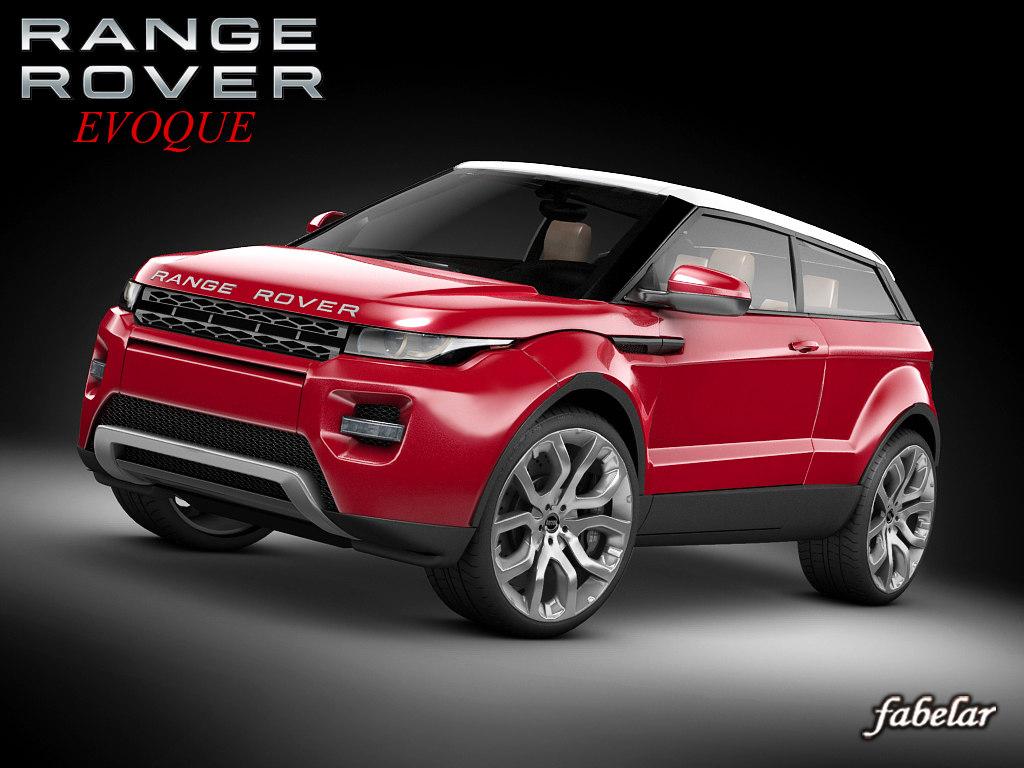 max range rover evoque