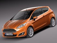 3d fiesta 2013 hatchback 3-door