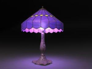 3d lamp antique lighting