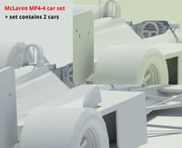McLaren MP4-4 car set
