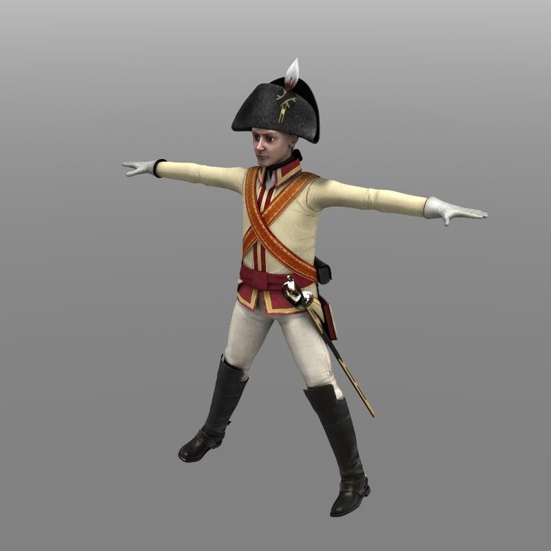 3d model chevalier guard private