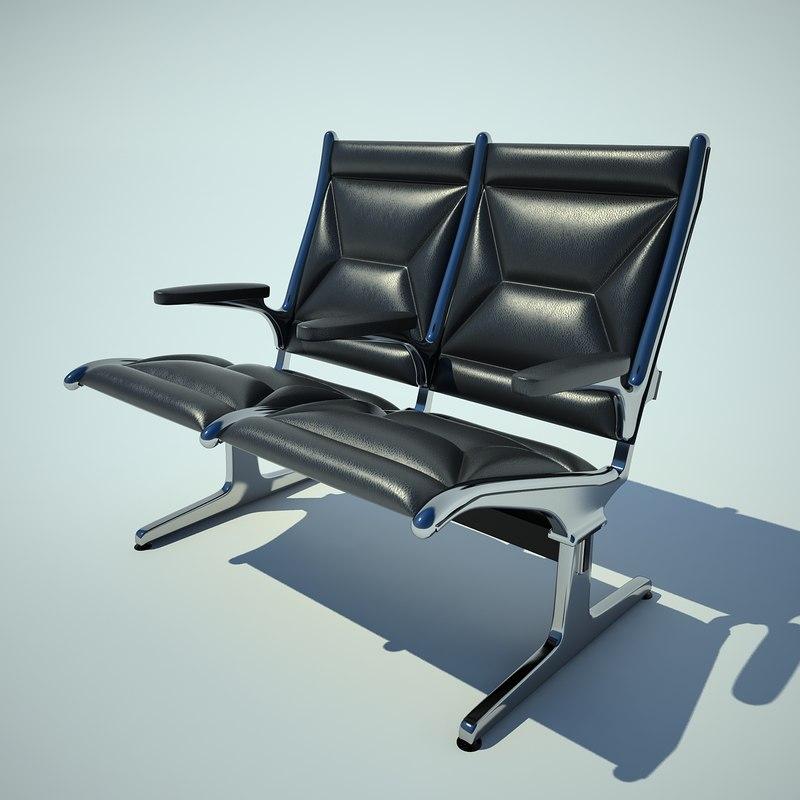 3d tandem seating model