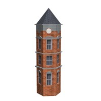3ds max victorian tower