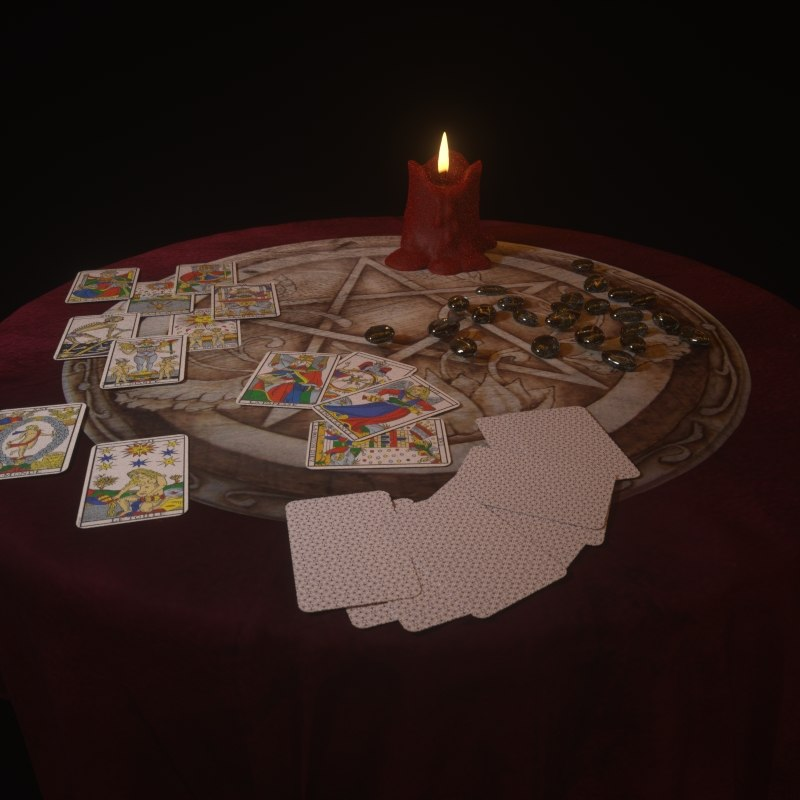 3d model esoteric table