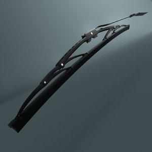 3ds car wiper