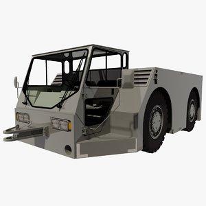 3d jet way line tractor model