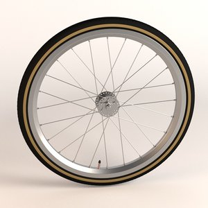 3ds max bicycle wheel