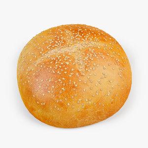 3d bread white