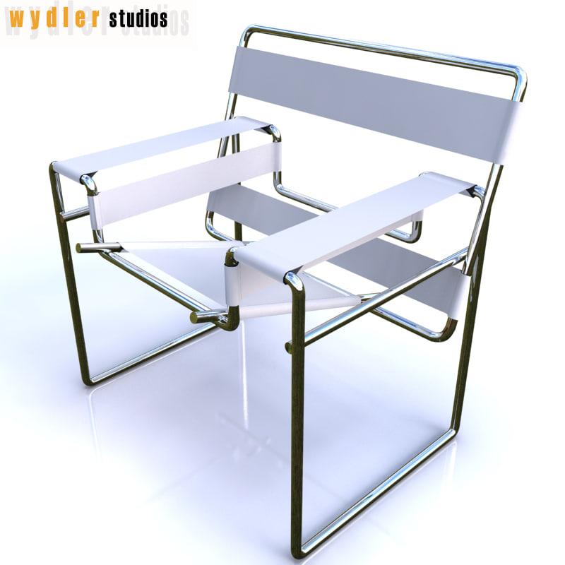 3d breuer chair model