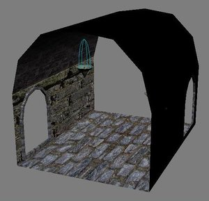 dungeon parts 3d model