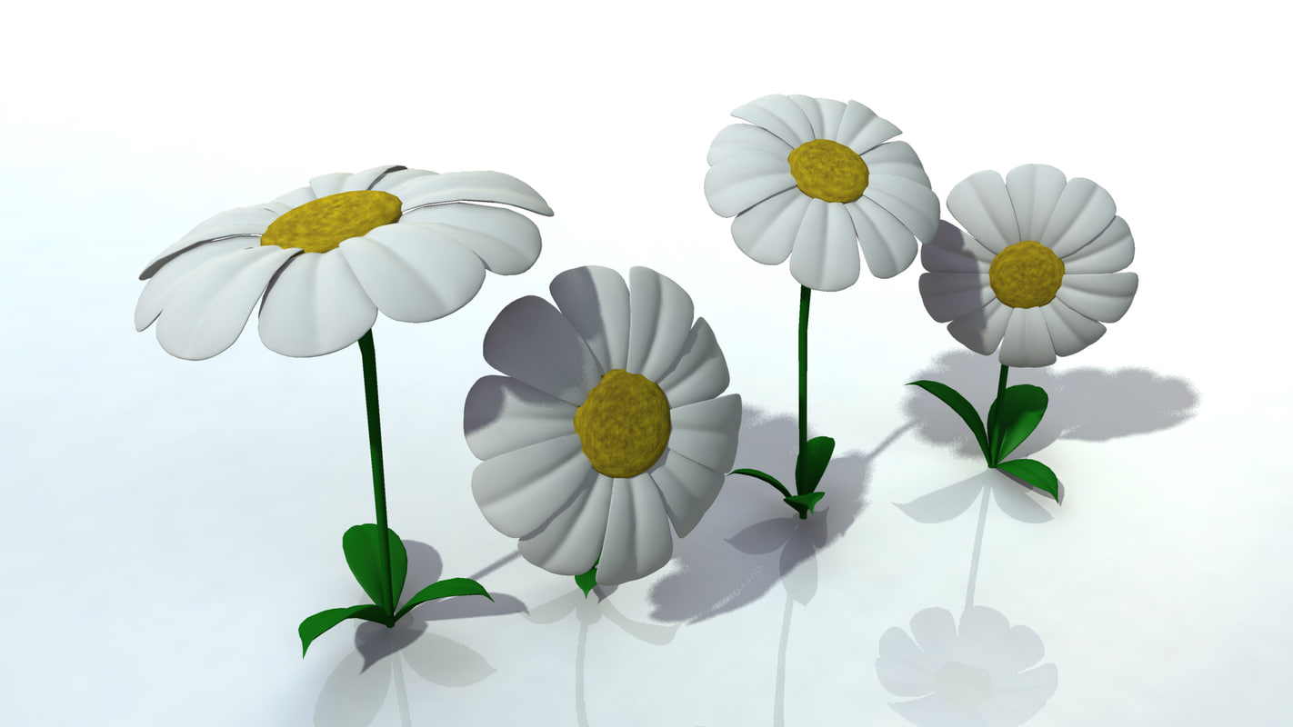 flowers obj