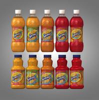 c4d bottles sunny d