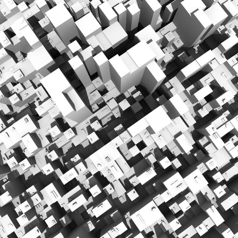 city scape 3ds