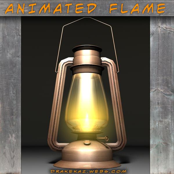 maya spooky old lantern