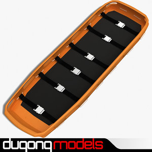 dugm04 stretcher 3d dxf