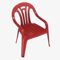 plastic molded chair max