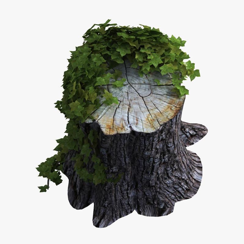 3ds tree stump