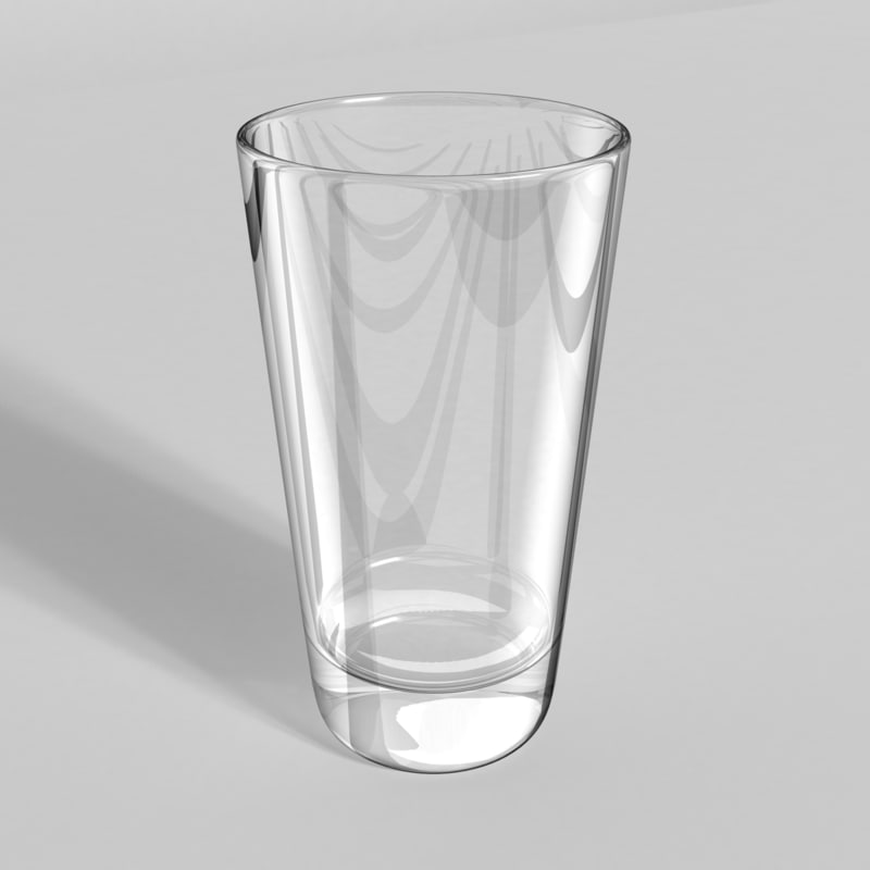 highball glass 3d 3ds