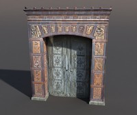3d model door portal