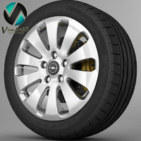 Wheel Opel Insignia 2