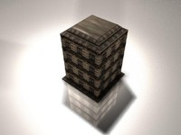 3d model building city