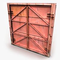 3d metal gate model