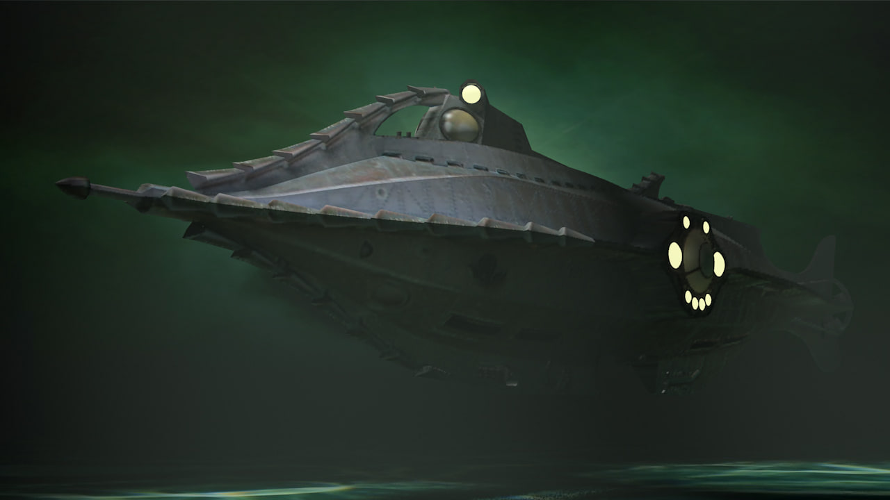 3d model of nautilus games