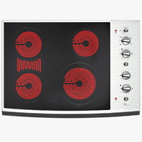 Standard Electric Cooktop with Four Elements