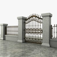 Wrought Iron Gate 06