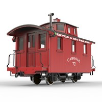 "Caboose; Narrow Gauge ""Bobber"