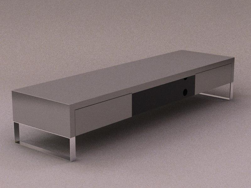 tv meuble 3d model