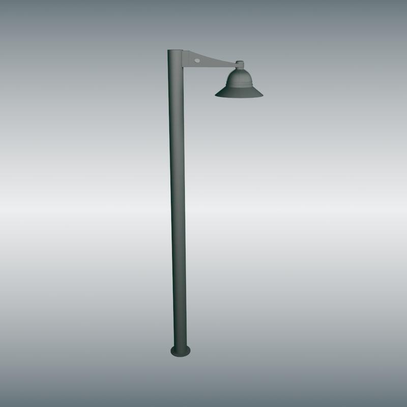 street light 3d max
