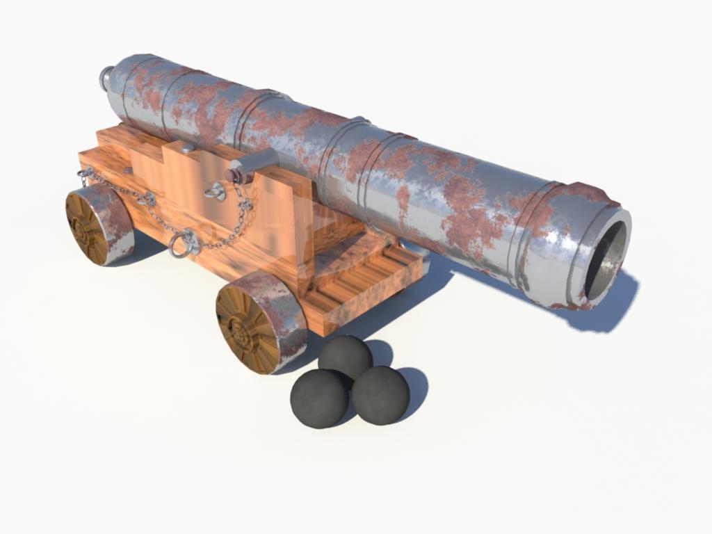 3d 48 cannon