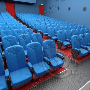 3d model of cine