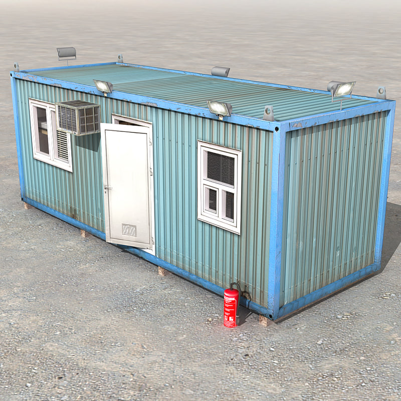 3d office container